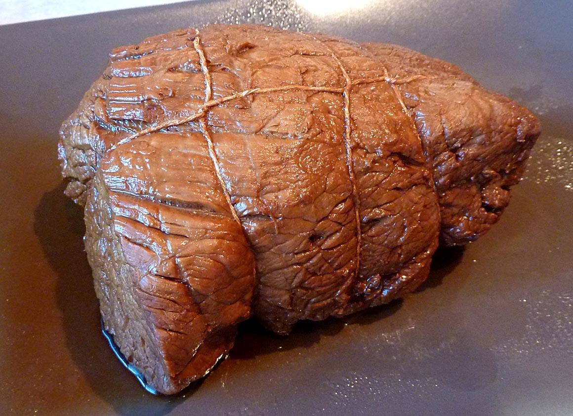 طهى اللحم