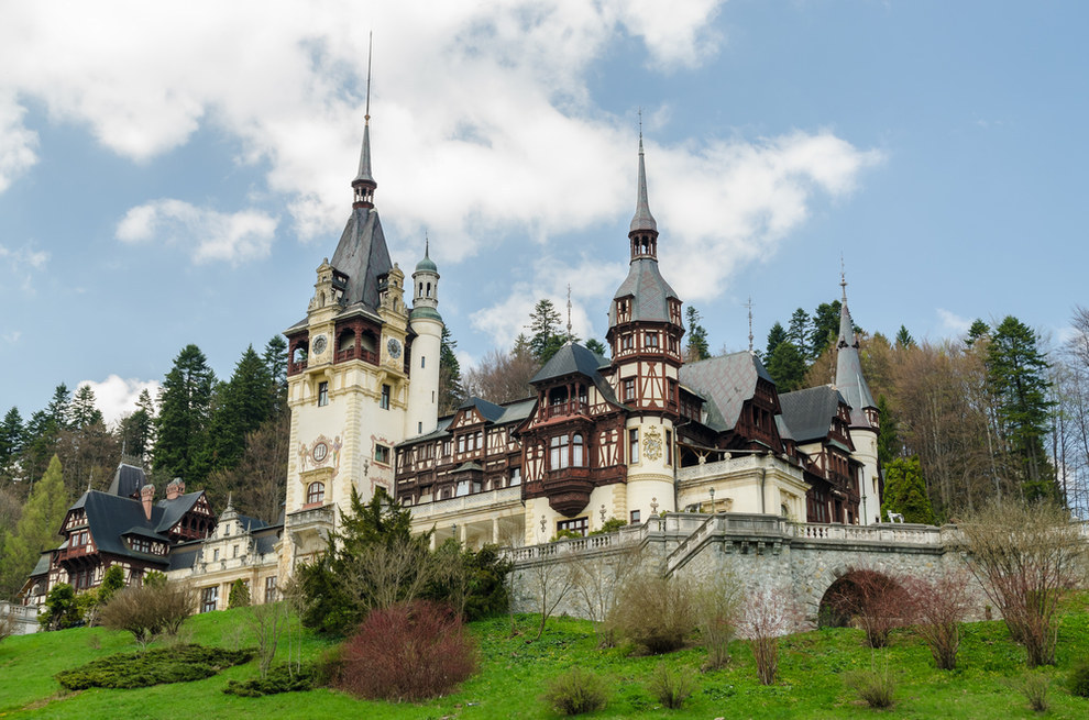 قلعة بيليس، رومانيا