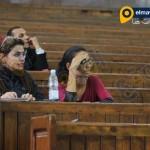 ماهينور المصرى فى محاكمة أحمد دومة فى قضية أحداث مجلس الوزراء