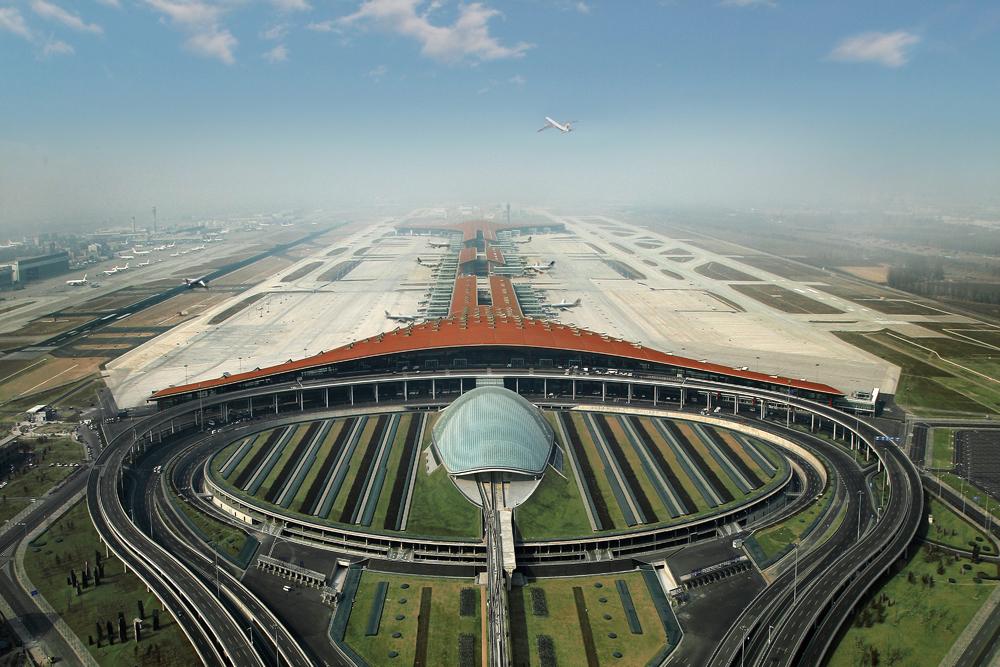 مطار بكين1