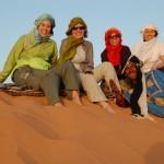 مغامرة على الرمال المغربية