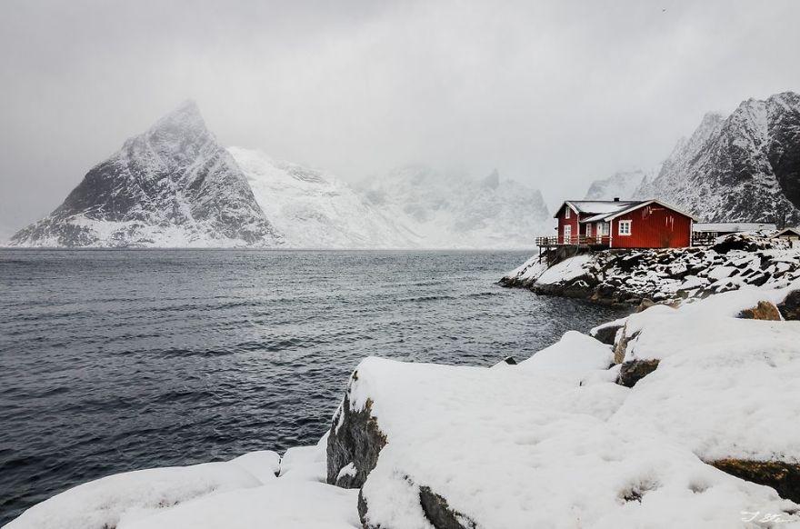 منزل الثلج فى النرويج