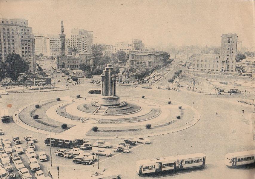 ميدان التحرير عام 1963