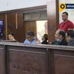 هيئة محكمة قضية أحداث مجلس الوزراء تشاهد فيديوهات للحادث