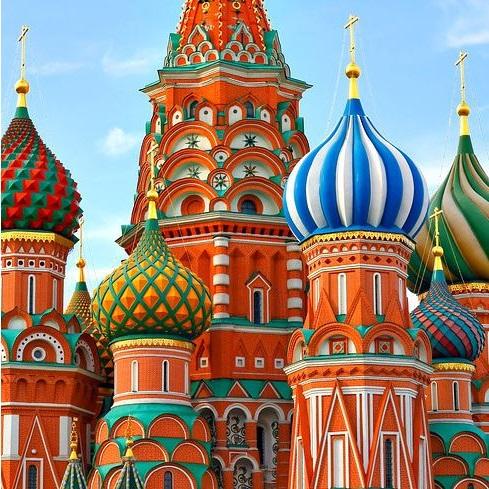 كاتدرائية سانت باسيل، روسيا