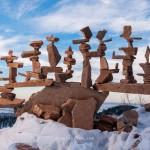 أبراج من الصخور