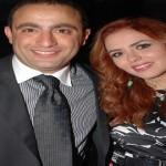 احمد السقا و زوجته