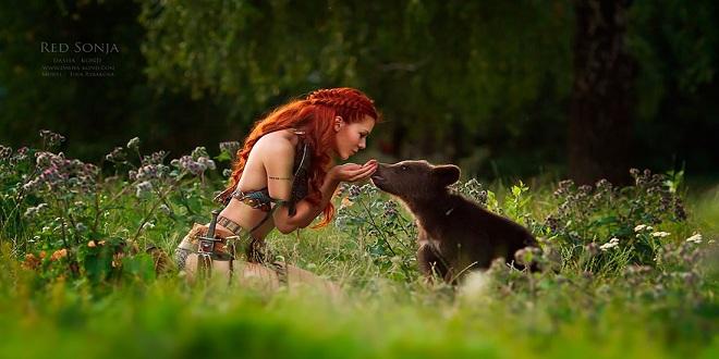 التصوير مع الحيوانات