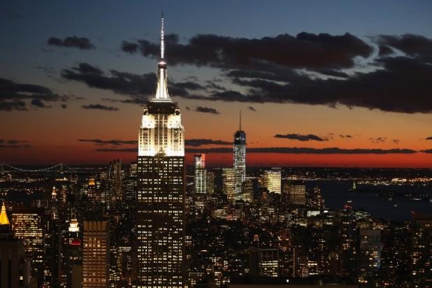 برج إمباير ستيت نيويورك