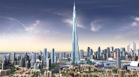 برج خليفة  الاطول