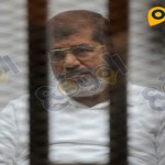 مرسى في احدى جلسات قضية الاتحادية
