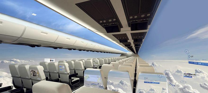 شاشات الطائرات