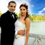 باسم يوسف و زوجته