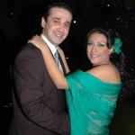 كريم وزوجته هايدي