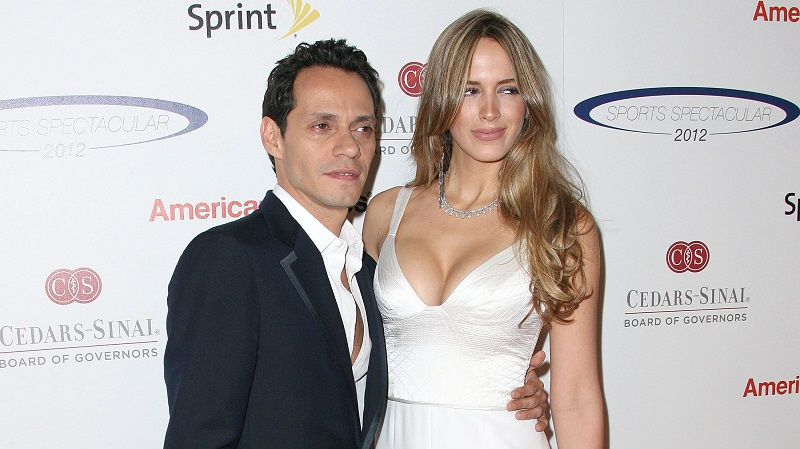 مارك انتوني وزوجته الجديدة