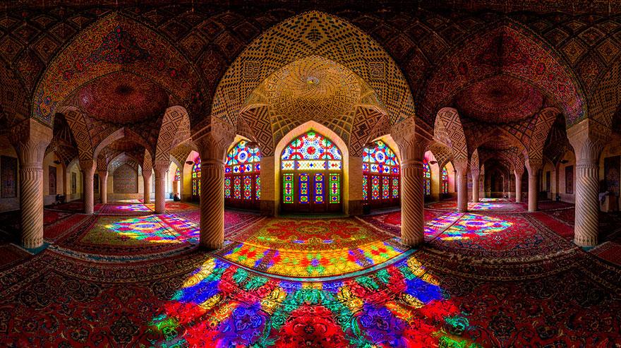 مسجد ناصر  الملك، شيراز، إيران