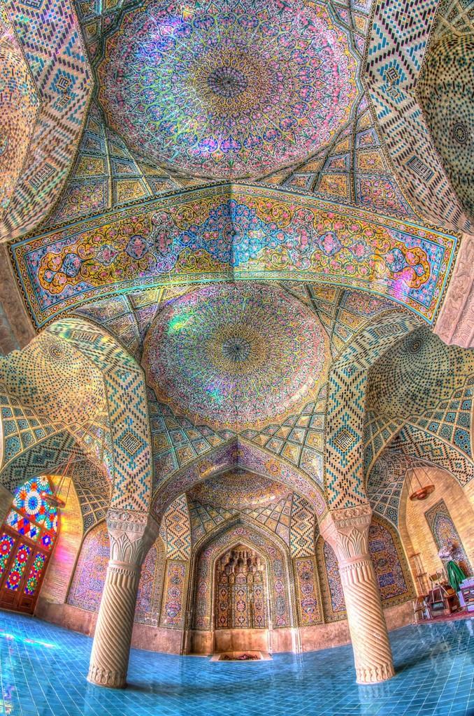 مسجد ناصر  الملك، شيراز،
