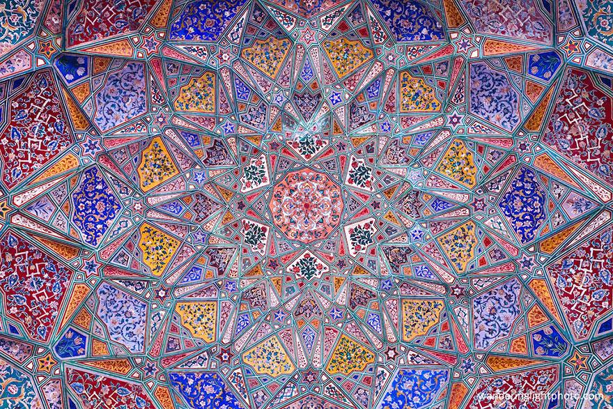 مسجد وزير خان في لاهور، باكستان