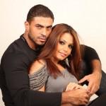 خالد سليم و زوجته