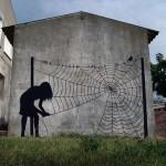 رسم على الجدران
