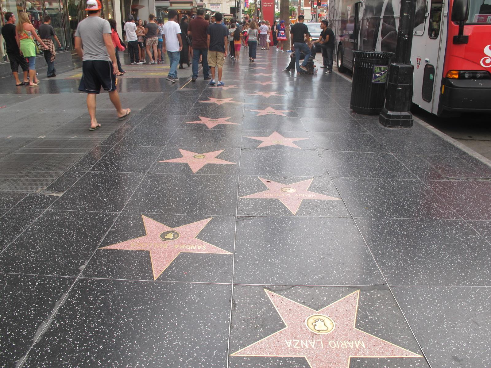 شارع المشاهير هوليود