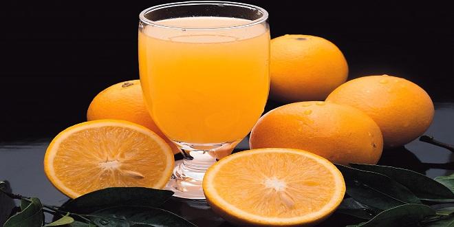 عصير برتقال فيتامين سي