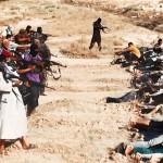 الدولة الإسلامية وقتل الجنود العراقيون