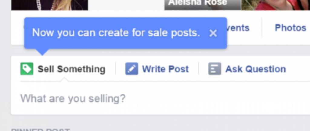 بيع منتجات على الفيسبوك