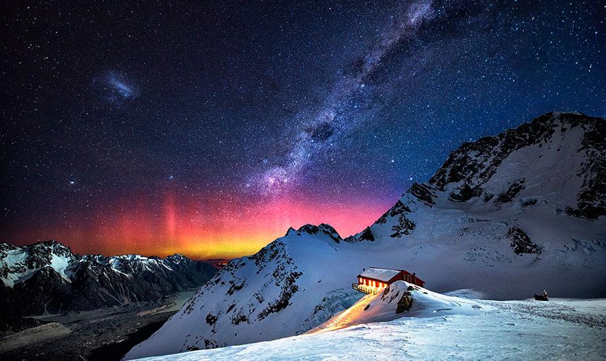 جبل كوك ونيوزيلندا