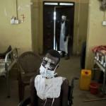 صرعات جنوب السودان مصاب برصاصة فى الوجه  والصدر