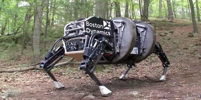 فهد بوسطن الآلى من الخلف