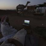 متابعة كأس العالم فى سوق الجمال بدبى