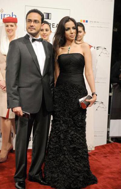 محمد رجب وزوجته