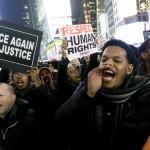 مظاهرات أمريكية لتنديد بمقتل ضابط الشرطة جري ديسمبر 2014