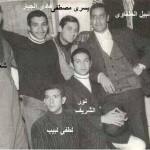 نور الشريف ولطفى لبيب وهادى الجيار ونبيل الحلفاوى
