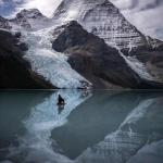 أحضان الطبيعة الثلجية