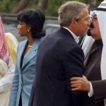 President Bush Meets With Crown Prince Abdullah