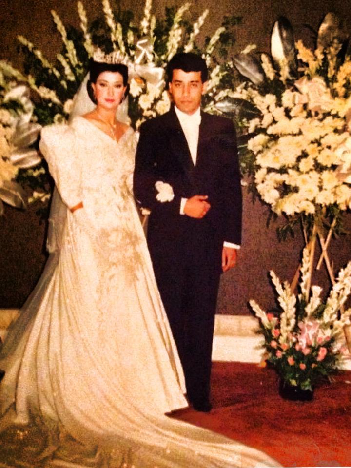 أول زواج لغادة عبد الرازق