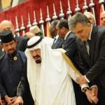 Saudi Arabia's King Abdullah bin Abdulaz