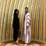 سلينا فى المسجد