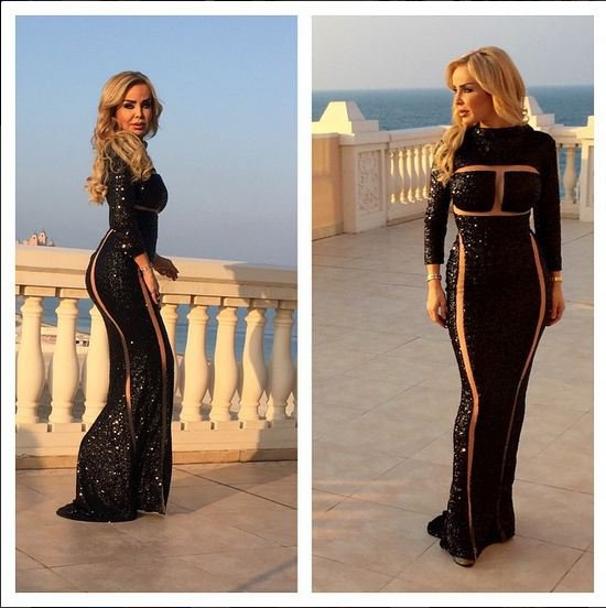 فستان رولا سعد