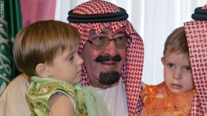 King of Saudi Arabia Abdullah bin Abdula