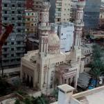 انهيار جزء من مئذنة مسجد ابن خلدون