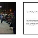 """فتاة تجوب شوارع القاهرة بـ"""" فستان الفرح""""-1024x375"""