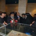 بطريرك إثيوبيا يزور المتحف المصري