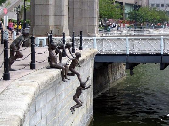 أهل النهر  المكان : سنغافورة