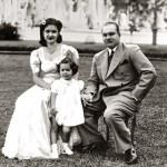 الملكة فريدة والملك فاروق