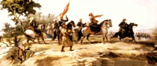 ابراهيم باشا يستعد لملاقاة الاتراك فى معركة نزيب