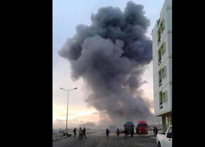القصف المصرى لداعش