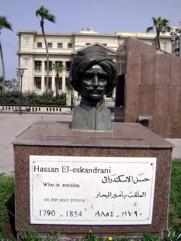 تمثال حسن الأسكندرانى